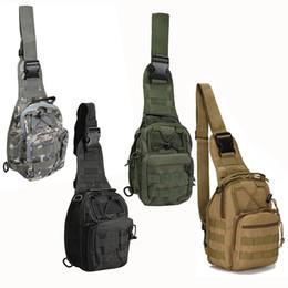 Discount tactical bag single - New Arrival Shoulder Bag Oxford Cloth Outdoor Haversack Tactical Casual Crossbody Bags