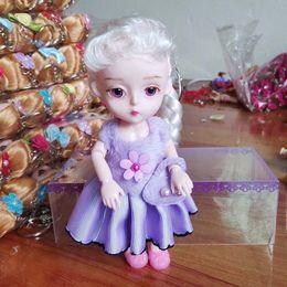 $enCountryForm.capitalKeyWord Australia - Fashion doll 15cm Action Figures Girls Birthday gifts Princess Doll Keychain Pendant Anime Collection Toys with box