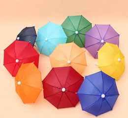 Umbrella Photography NZ - Mini Simulation Umbrella For Kids Toys Cartoon Many Color Umbrellas Decorative Photography Props Portable And Light SN2140