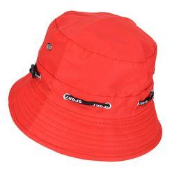 $enCountryForm.capitalKeyWord NZ - JETTING Black Red Spring Summer Sun Hat Travel Women Hat Unisex Flat Cotton Bucket For Men Women Female Male Fisherman Cap