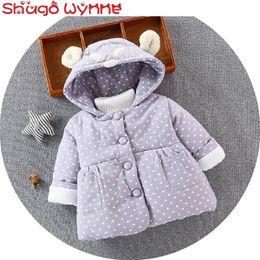 $enCountryForm.capitalKeyWord Australia - Winter Baby Girls Loving Heart Print Long Sleeve Cartoon Hooded Cotton Coat Kids Princess Thick Warm Jacket