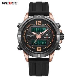 $enCountryForm.capitalKeyWord NZ - WEIDE New Arrival Luxury Casual Fashion Model Analog LCD Digital Movement Silicone Strap Metallic Box Quartz Wristwatch for Men