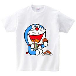 $enCountryForm.capitalKeyWord NZ - New Doraemon T Shirt children Japan Anime T-shirt Summer Short Sleeve Cotton Doraemon T Shirts Tops for girl and boy Tees NN