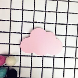 $enCountryForm.capitalKeyWord Australia - wholesale Newly White Cloud Wall-amount Toys Baby Girls Boys Room Decor Home Decorations Hanging Mobile Toys For Children Gifts