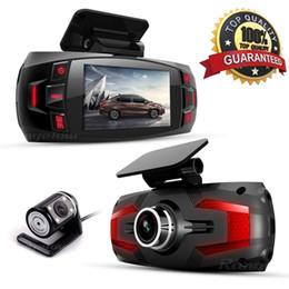 "Hd Car Cams Zoom Australia - Range Tour dual camera Car DVR Dashboard Camera Support Rear Camera Full HD 1080P 2.7""LCD 170 Degree Video Recorder Dash Cam"