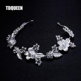 $enCountryForm.capitalKeyWord NZ - Jewelry Wedding Bridal Hair Accessories Royal Tiara Silver Plated and Gold Color Metal Leaf Flower Crystal Hair Vine Tiara