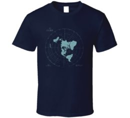 $enCountryForm.capitalKeyWord UK - Map Of The Earth T Shirt Mens Tee New World Order Earth Is Flat Gift New From US 2019 Summer New Fashion Brand Tshirt Solid Color