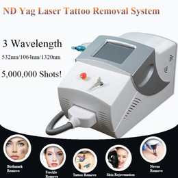 laser tattoo removal ce Canada - 2019 The Latest Portable laser machine tattoo removal nd yag q-switch laser CE approval with factory price