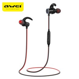 $enCountryForm.capitalKeyWord NZ - Awei IPX4 Waterproof Bluetooth Earphone Magic Magnet Attraction Sports Earphone Earbuds with Microphone For WuaWei iPhone Samsung AK8 BA