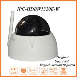 Wholesale DH IPC HDBW1320E W MP HD CMOS Mini Dome Camera Wireless Security Network Camera for Baby Monitoring IR m