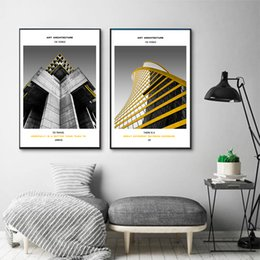 $enCountryForm.capitalKeyWord Australia - Modern Architecture Empire Building Nordic Art Canvas Paintings Vintage Kraft Posters Coated Wall Stickers Decor Family Gift