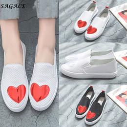 $enCountryForm.capitalKeyWord NZ - Designer Dress Shoes CAGACE 2019 Summer Women Heart-Shaped Breathable Antiskid Casual Beach Girls Lady Small 1.5cm PU Flip Flops zapatos