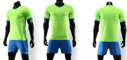 Wholesale online design shirts for sale - Group buy Personality Men s Mesh Performance Design your own custom Soccer shirts shorts uniforms online Design Custom Football Jerseys Online Sets