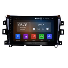 Rearview Screen NZ - 10.1 Inch touchscreen Android 9.0 Car Stereo GPS Navigation for 2011-2016 NISSAN navara with WIFI Bluetooth support Rearview Camera car dvd