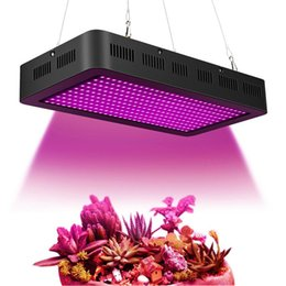led grow ir uv Canada - 2000W SMD3030 LED Grow Light 380~850nm Full Spectrum Growing Light Fixtures Red UV IR for Indoor Herbs and Plants Replace HPS Grow Light
