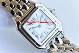 Luxury Square Watch Swiss Australia - New Luxury 0007 Medium Size Ladies Watch Swiss Quartz Movement White Dial Sapphire Crystal Water Proof 100M Top Quality Womens Wristwatch