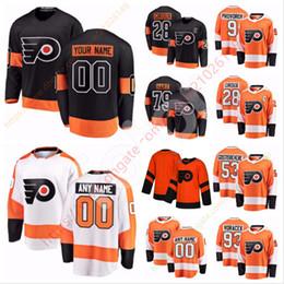Flyers voracek jersey online shopping - Custom Philadelphia Flyers Jersey Carter Hart James van Riemsdyk Voracek Couturier Folin Voracek Lindblom Konecny Weal mason weise Hagg