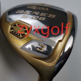 $enCountryForm.capitalKeyWord Australia - golf club honma s-06 men's fairway wood 3 or 5 graphite dedicated shaft R free shipping