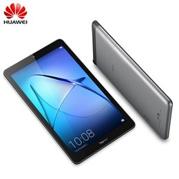 2gb Ram 16gb Rom Tablet Australia - Huawei MediaPad T3 7 Android 6.0 WIFI 7.0 inch Tablet PC 2GB RAM 16GB ROM MTK MT8127 Quad Core GPS IPS Screen 1024*600