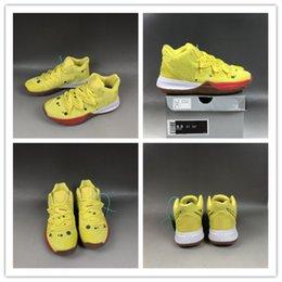 $enCountryForm.capitalKeyWord Australia - Hot Kyrie 5 Sponge Men Basketball Shoes Animation Figures Cushion Shoe Sole Qualit Unisex Sports Sneaker Traine Size 36-46