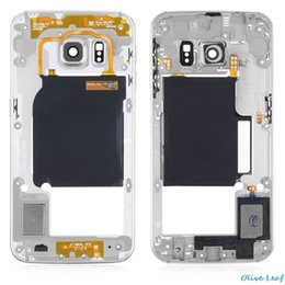$enCountryForm.capitalKeyWord Australia - 100% Original Middle Chassis Back Middle Frame Rear Housing Cover For Samsung GALAXY S6 G920 G920F  S6 edge G925