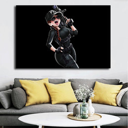 $enCountryForm.capitalKeyWord Australia - Rainbow Six Siege Outbreak Ash Anime HD Wall Art Canvas Posters Prints Painting Wall Pictures For Office Living Room Home Decor