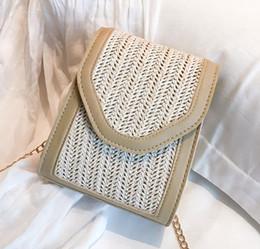 Trustful New Straw Bag Casual Handbag Summer Holiday Shoulder Bag Woven Bag Shoulder Messenger Simple Solid Color Wild Straw Bag Easy To Use Women's Bags