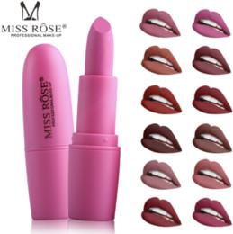 $enCountryForm.capitalKeyWord Australia - MISS ROSE Lipstick 25 Colors Dumb Photon Warhead Hot Quality Cosmetics Original Single Beauty Lipstick Free Shipping Wholesale Ready Stock