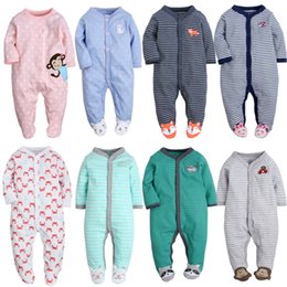$enCountryForm.capitalKeyWord NZ - Newborn Pajamas Unicorn Cotton Boys Overalls Romper Infants Bebes Jumpsuit Premature Infant Baby Clothes Q190520