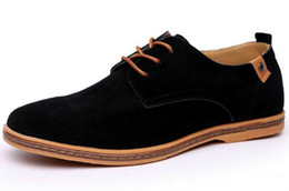 $enCountryForm.capitalKeyWord Australia - Casual Men S Genuine Leather Suede Boots Leisure Low Footwear Suede Fashionable Shoes Repopular Classic Revo Suded Shoes Zyx01