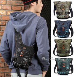 tactical body bag Canada - 2020 Fashion Men's Camo Tactical Messenger Shoulder Sling Cross Body Chest Sports Bags Waist Bag