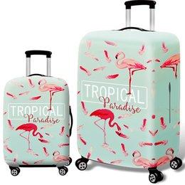 Фламинго камера защитные чехлы для багажа защитный чемодан тележка чехол путешествия материнства пылезащитный чехол 13styles GGA1468