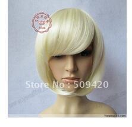 $enCountryForm.capitalKeyWord Australia - >>>2011 New Short Platinum Blonde Cosplay Party Wig 5.3