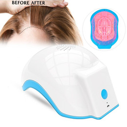 massage hair growth Australia - Laser Therapy Growth Helmet Device Treatment Anti Loss Promote Hair Regrowth Cap Massage EquipmentMX190925