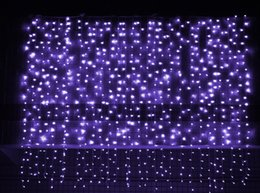 $enCountryForm.capitalKeyWord UK - Twinkle Star 304 LED Window Curtain String Light Wedding Party Home Garden Bedroom Outdoor Indoor Wall Decorations 3*3M US EU