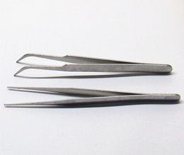 $enCountryForm.capitalKeyWord NZ - Stainless Steel tip elbow tweezers electronic appliance repair beauty nail multi-meat horticultural products DIY distribution tools