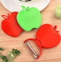 Kitchen Apple Peeler Australia - 2019 Newest Apple zesters Fruit Vegetable Peeler Cute New Kitchen Tools Kitchen Cutlery Vegetable Fruit Peeler Paring Knife IA028