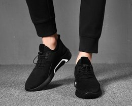 $enCountryForm.capitalKeyWord NZ - New Breathable Shoes Men's Trends England Wild Net Shoes Black Sports Casual Shoes Business handbag