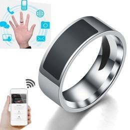 Умные кольца водонепроницаемый мода цифровой смарт-аксессуар Интеллектуальное управление пальцем NFC Смарт-кольцо для женщин мужчин на Распродаже
