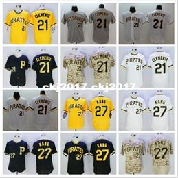 $enCountryForm.capitalKeyWord Australia - Mens 21 Roberto Clemente 27 Jung Ho Kang Jerseys color gray white black camo yellow Size:M-XXXL