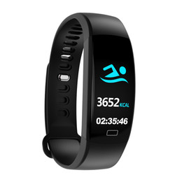 Discount new gps smart watches - New Fitness tracker Smart Ring IP68 Waterproof Smart Band Color Screen Bluetooth Bracelet Heart Rate Monitor Blood Press