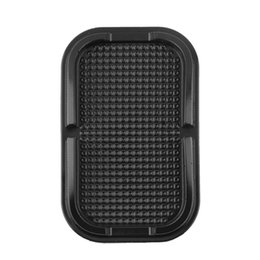 Discount slip mats for mobile phones - Sticky Silica Gel Pad Anti Slip Mat Stand Car Mobile Phone Tablet Holder Magic Wall Sticker Lazy Bracket Storage Case Fo