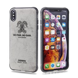 skin sticker galaxy 2019 - Constellation Skin Phone Case IPhone Xs Max Soft Shell VIVO X23 NEX Stickers Skin Tide Brand Tpu Oppo R17 Soft Shell