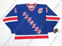 Cheap custom MARK MESSIER NEW YORK RANGERS HEROES OF HOCKEY VINTAGE CCM  HOCKEY JERSEY stitch add any number any name Hockey Jersey XS-5XL 51dbb6189