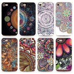 $enCountryForm.capitalKeyWord UK - Mandala Flower Datura Floral Printing Phone Case Cover For Coque iPhone X XS Max XR 5 5S SE 5C 6 6S 7 8 Plus 8Plus Fundas Shell Ypf31-17