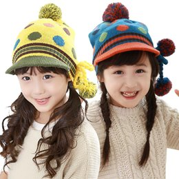 dca7aa38 Kocotree Baby Boys Girls Pom Poms Hat Children Winter Hat Knitted Beanies  Thick Baby Toddler Warm Cap Age For 2-10 Years Old