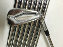 Discount pro golf shafts - JPX719 Pro Iron Set JPX719 Pro Golf Forged Irons JPX719 Golf Clubs 4-9PGw Steel Shaft With Head Cover