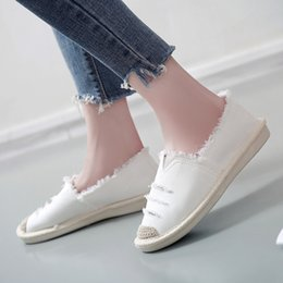 Fishermen Flats NZ - 2019 women flats breathable canvas shoes female summer white shoes casual autumn flat slip-on loafers women fisherman Wholesale as181
