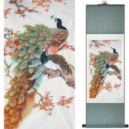 traditional chinese paintings Australia - Traditional Silk Art Painting Birds And Water Lily Chinese Art Painting Home Office Decoration Chinese Painting2019071926
