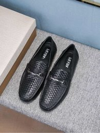 $enCountryForm.capitalKeyWord NZ - duping520 Black Embossed casual peas shoes Men Dress Shoes Moccasins Loafers Lace Ups Monk Straps Boots Drivers Real leather Sneakers